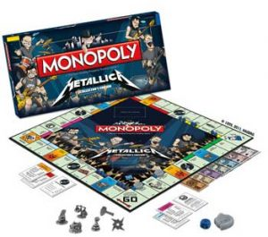 Metallica: Game - Monopoly