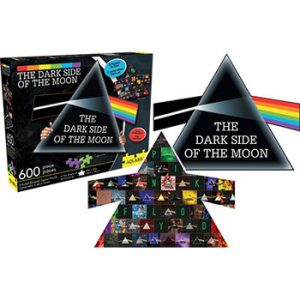 Pink Floyd: Jigsaw Puzzle - Dark Side Collage and Prism
