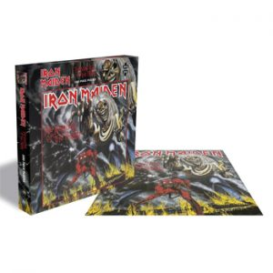 Iron Maiden: Jigsaw Puzzle - The Number of the Beast