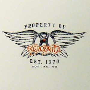 Aerosmith: Greetings Card - Logo