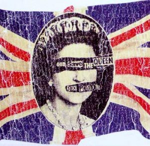 Sex Pistols: Greetings Card - God Save The Queen