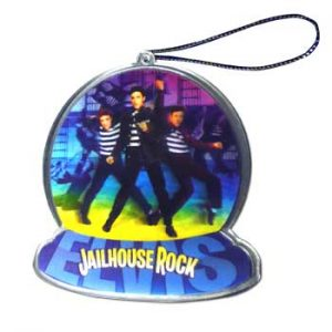 Elvis Presley: Christmas Decoration - Jailhouse Rock Ornament