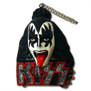 Kiss: Christmas Decoration - Gene Simmons Damon Ornament
