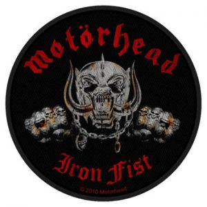 Motorhead: Patches - Iron Fist