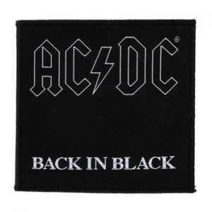 AC/DC: Patch - Back In Black