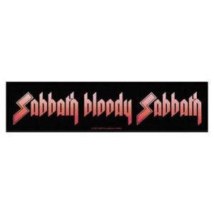 Black Sabbath: Patch - Sabbath Bloody Sabbath Strip