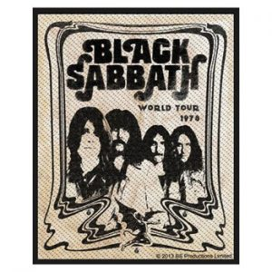 Black Sabbath: Sew-on Patch - Band