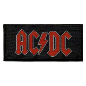 AC/DC: Patch - Red Logo