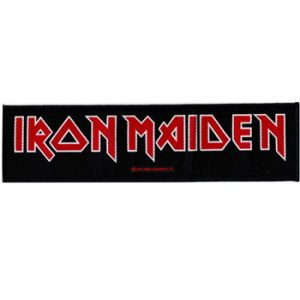 Iron Maiden: Patch - Red Logo
