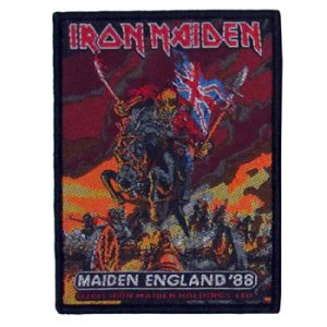 Iron Maiden: Patch - Maiden England 88