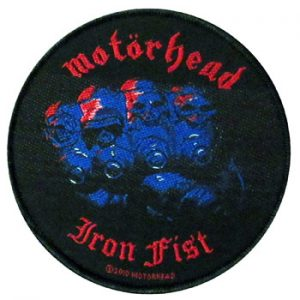 Motorhead: Patch - Iron Fist