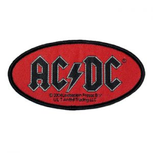 AC/DC: Patch - Oval Logo