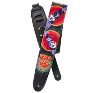 Kiss: Guitar Strap - Sonic Boom Leather Strap