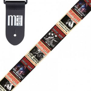 Miscellaneous: Guitar Strap - Marquee Club Classic Moments