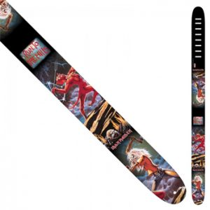 Iron Maiden: Guitar Strap - Skull Fang Leather strap