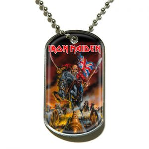 Iron Maiden: Dog Tag - Maiden England
