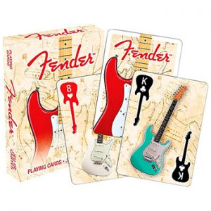 Miscellaneous: Playing Cards - Fender Stratocaster