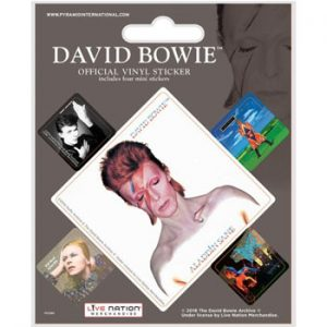 David Bowie: Stickers - Album Covers