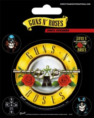 Guns N' Roses: Sticker - Bullet Logo