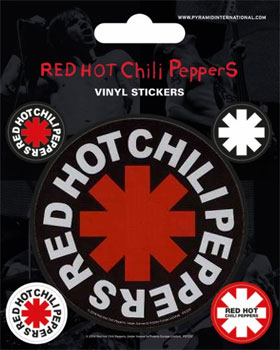 Red Hot Chili Peppers: Stickers - Asterisk
