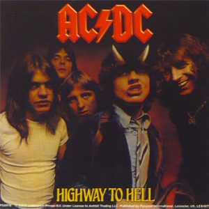 AC/DC: Sticker - Highway to Hell