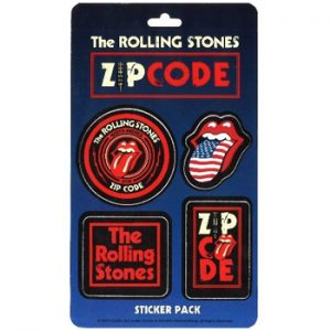 Rolling Stones, The: Stickers - Zip Code