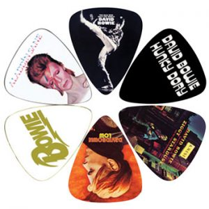 David Bowie: Guitar Picks - Album Covers
