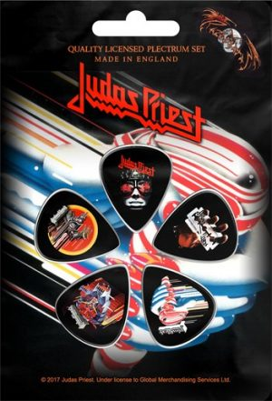 Judas Priest: Guitar Picks - Turbo