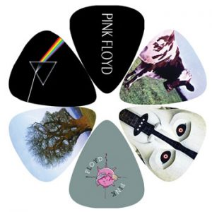 Pink Floyd: Guitar Picks - Album Covers