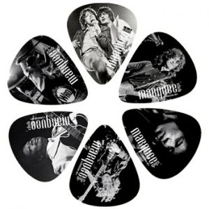 Miscellaneous: Guitar Picks - Marquee Club Icons