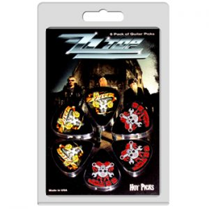 ZZ top: Guitar Picks - Logo