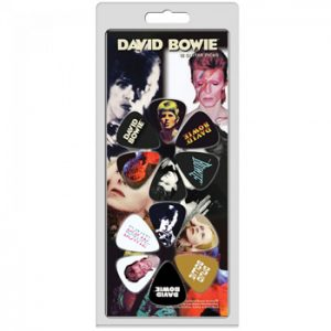 David Bowie: Guitar Picks - Logo and Faces