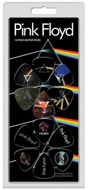Pink Floyd: Guitar Picks - Prism & Logo
