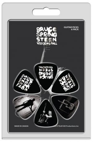 Bruce Springsteen: Guitar Picks - Wrecking Ball