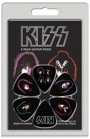 Kiss: Guitar Picks - Faces
