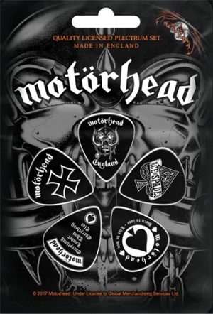 Motorhead: Guitar Picks - England