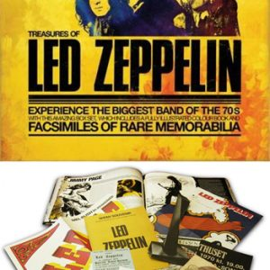 Led Zeppelin: Book - Treasures of Led Zeppelin