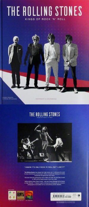 Rolling Stones, The: Book - Kings Of Rock 'N' Roll