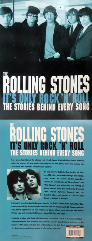 Rolling Stones, The: Book - It's Only Rock 'n' Roll - The Stories Behind Every Song