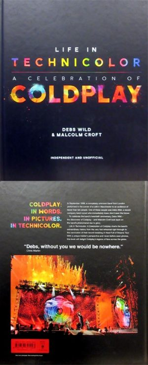 Coldplay: Book - Life in Technicolor - A Celebration of Coldplay