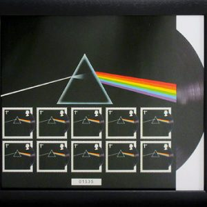 Pink Floyd: Framed Stamps  - Dark Side Of The Moon