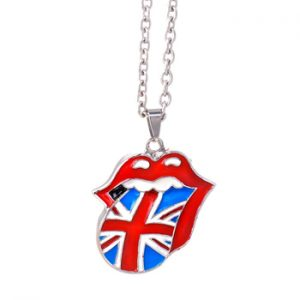 Rolling Stones, The: Necklace - Union Jack Tongue