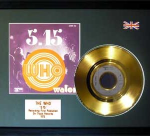 Who, The: Framed Discs - Gold Single - 5.15