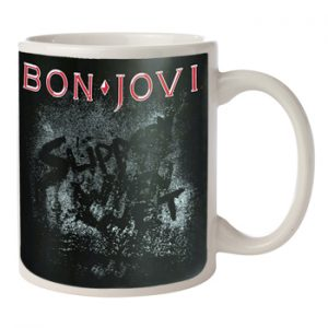 Bon Jovi: Mug - Slippery When Wet