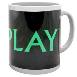 Coldplay: Mug - Green Logo