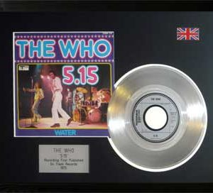 Who, The: Framed Discs - Silver Single - 5.15