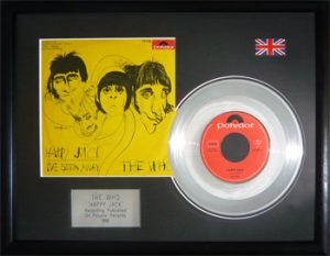 Who, The: Framed Discs - Silver Single - Happy Jack