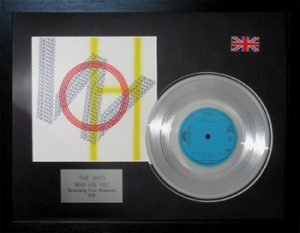 Who, The: Framed Discs - Silver Single - Who Are You