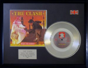 Clash, The: Framed Discs - Silver Single - Rock The Casbah