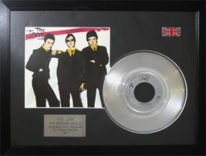 Jam, The: Framed Discs - Silver Single - The Modern World